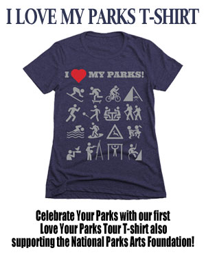 Love Your Parks TShirt