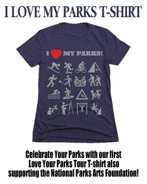 I Love My Parks TShirt