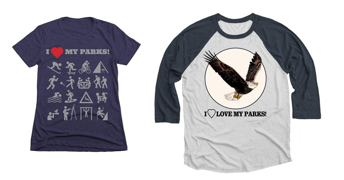 LOVE YOUR PARKS TOUR T-SHIRTS