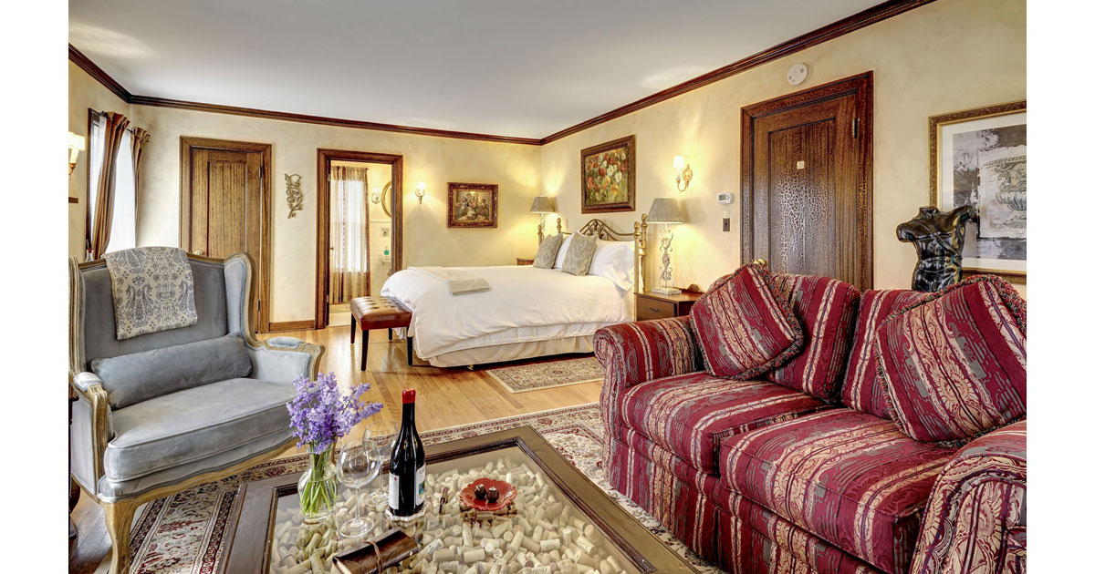 Tuscan Suite from Sitting Room
