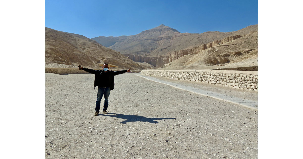 Valley of the Kings with guide