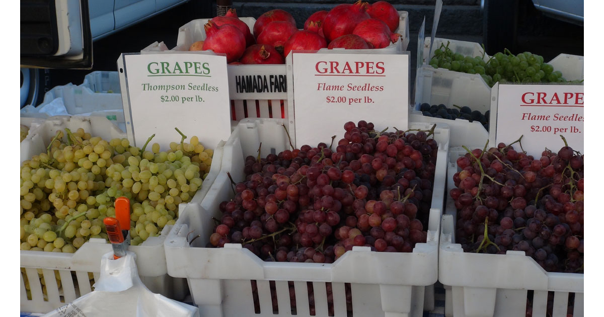 Visalia Farmers Market