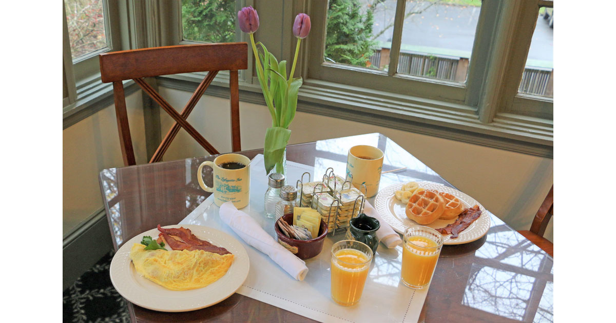Wake to a Full Breakfast