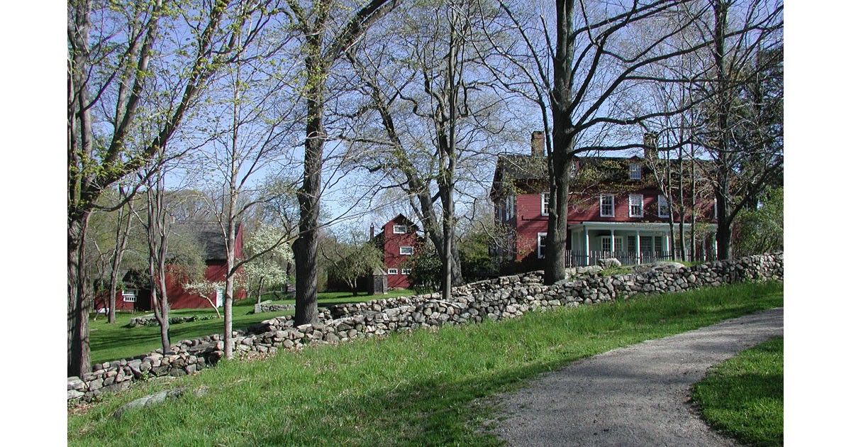 Weir House & Studios at Weir Farm. NPS Photo