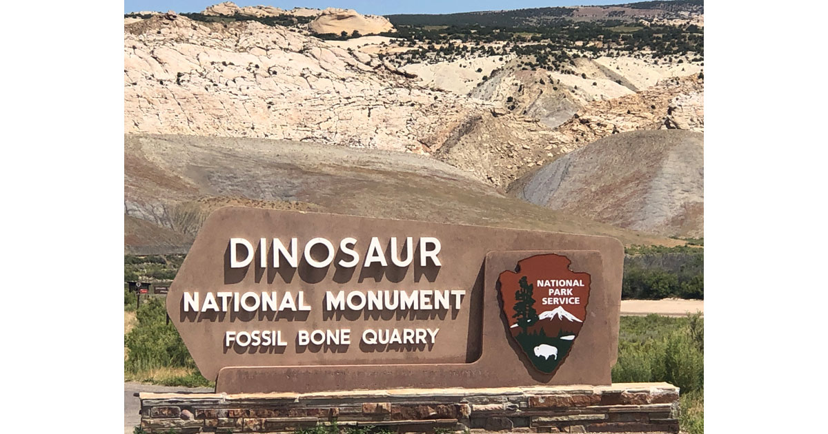 Welcome to Dinosaur National Monument