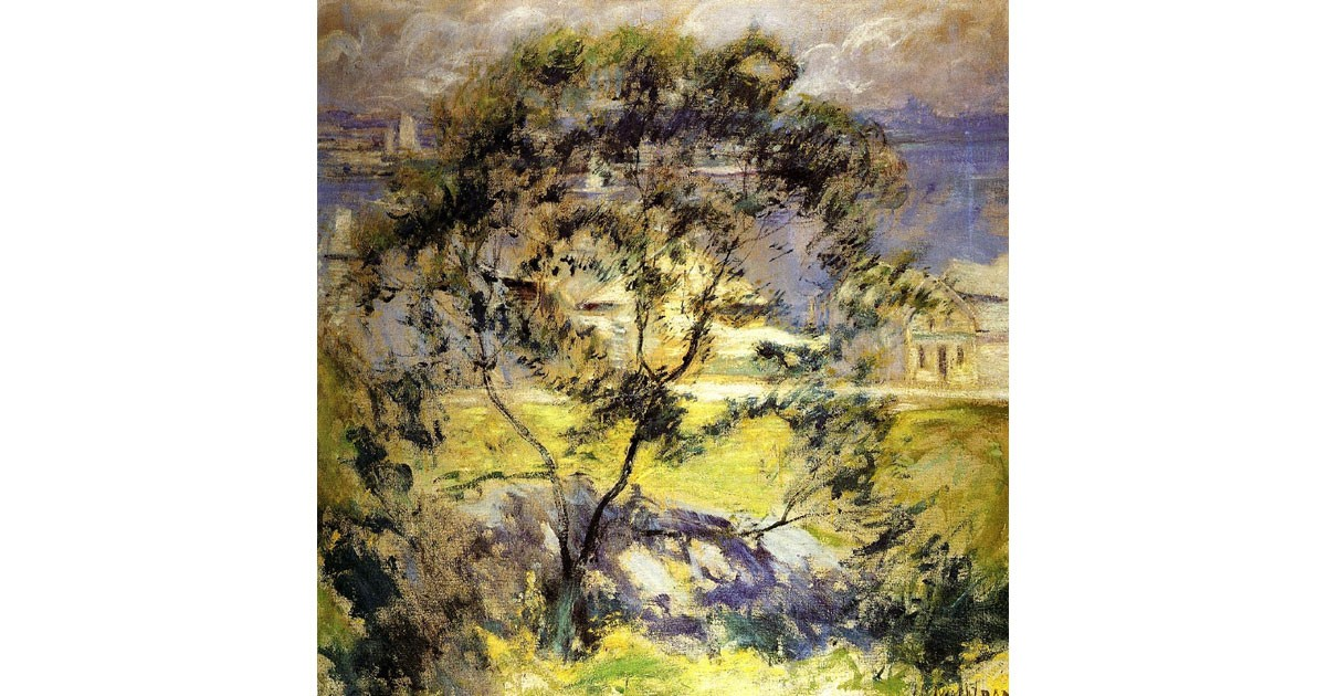 Wild Cherry Tree by John Henry Twachtman, 1901