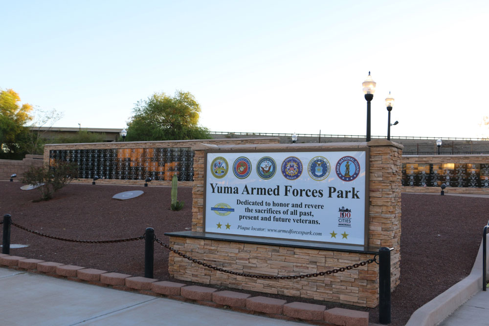YUMA ARMED FORCES PARK