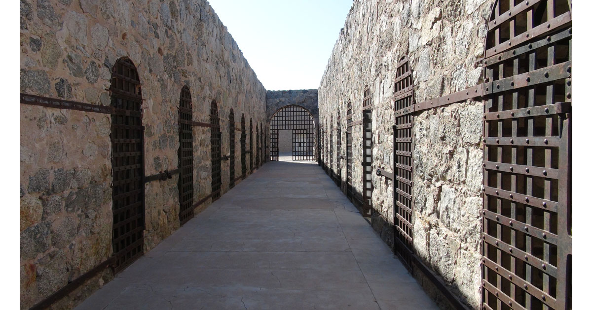 Yuma Territorial Prison State Historic Park in Yuma, AZ