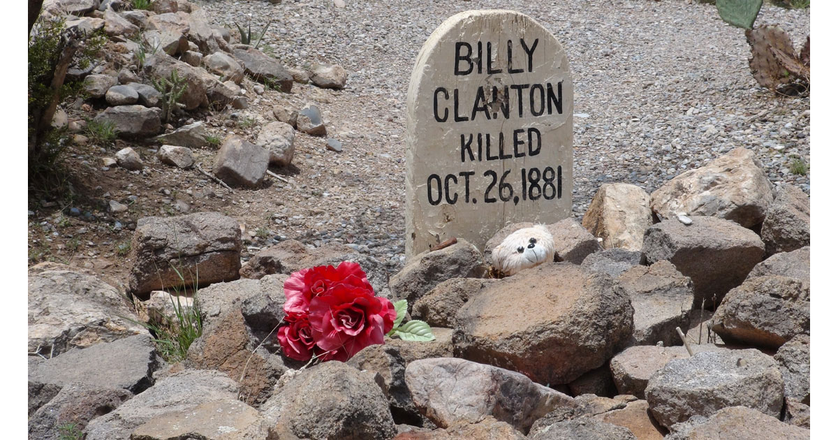 Billy Clanton - Boothill Cemetery