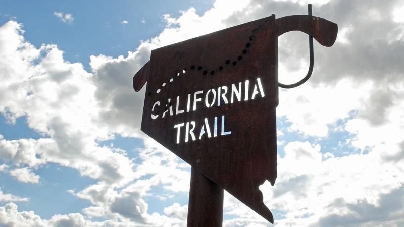 California National Historic Trail - NV