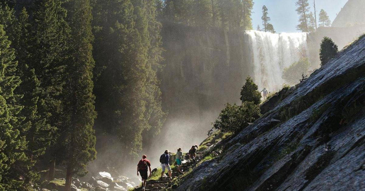 Yosemite Vernal Falls Mist Trail - Courtesy of Tenaya Lodge