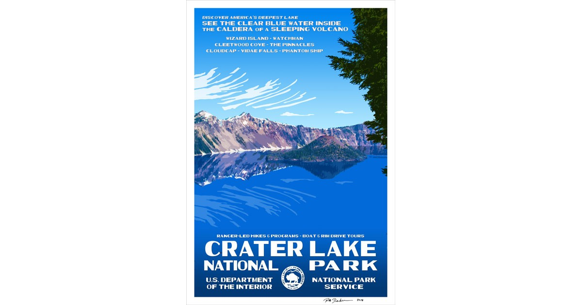 Crater Lake National Park by Rob Decker