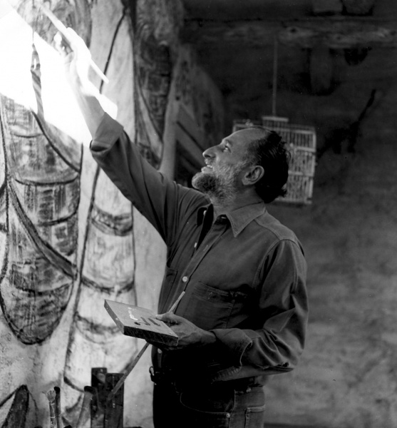 Ted DeGrazia Painting