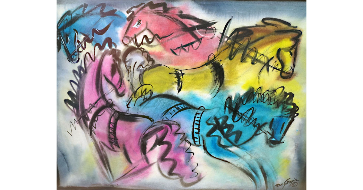 Clowns by DeGrazia
