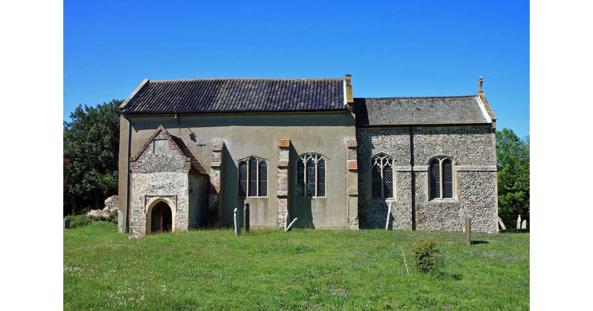 Easton Church in Norfolk