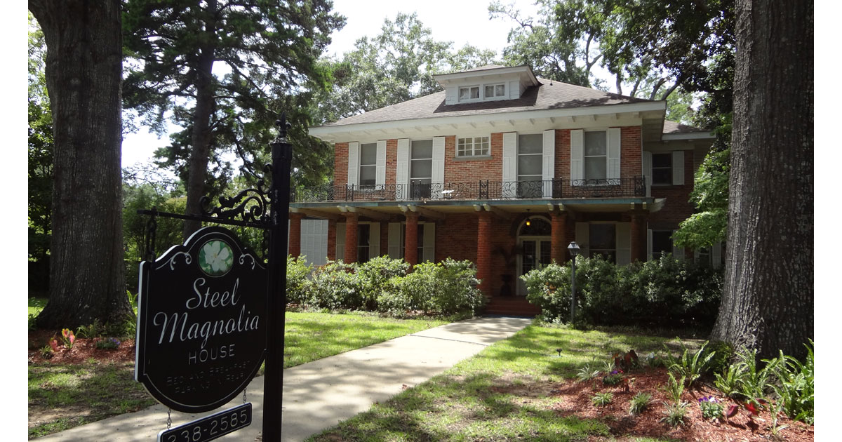 Steel Magnolia House Bed and Breakfast courtesy Natchitoches CVB