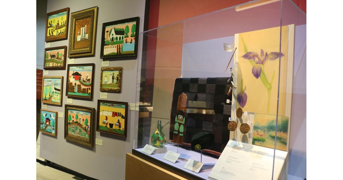 Clementine Hunter Exhibit at Northwest Louisiana History Museum