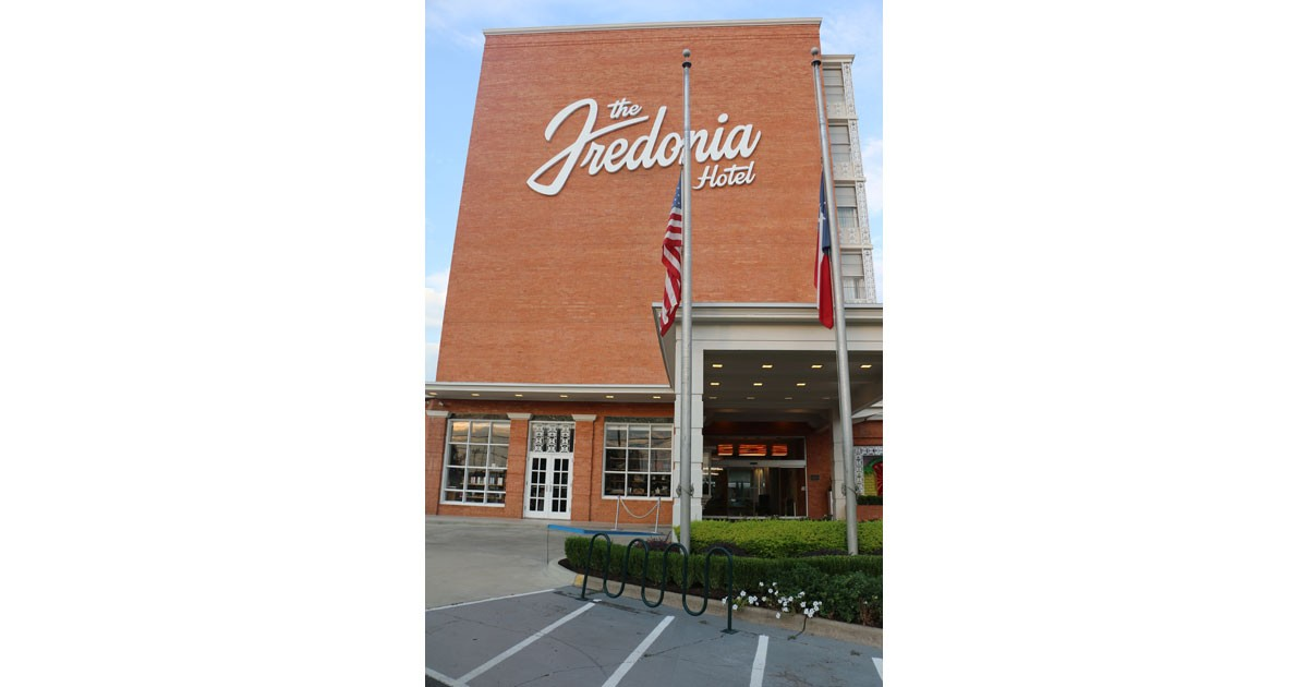 Entrance to the Fredonia Hotel