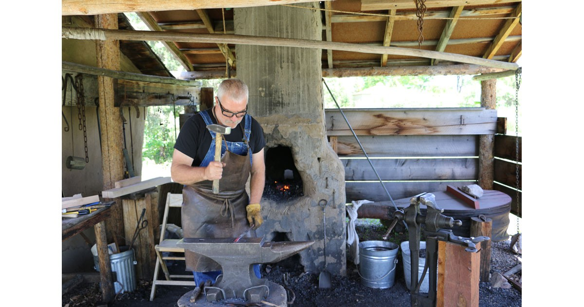 Blacksmith shop at the Centennial Village Museum in Greeley