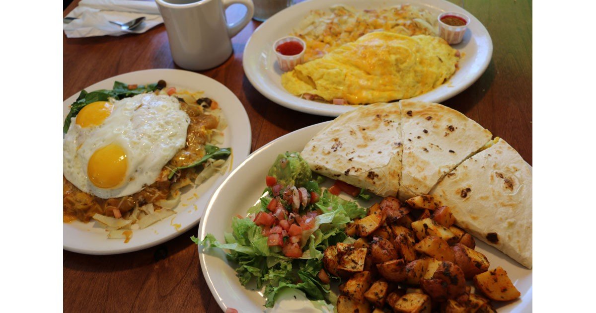 Hearty Breakfast at Doug's Diner in Downtown Greeley