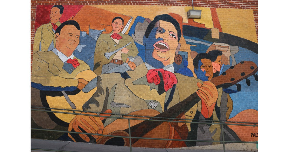 Mural in Downtown Greeley