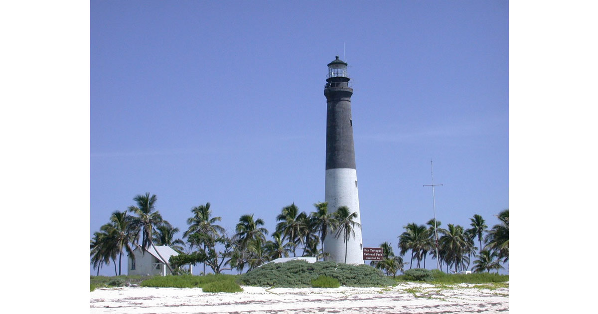 Lighthouse at Dry Tortugas