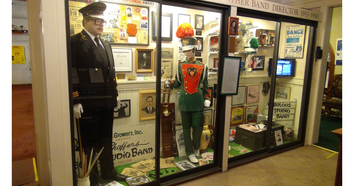 Frank Buck Shaffer Exhibit at Porterville Historical Museum
