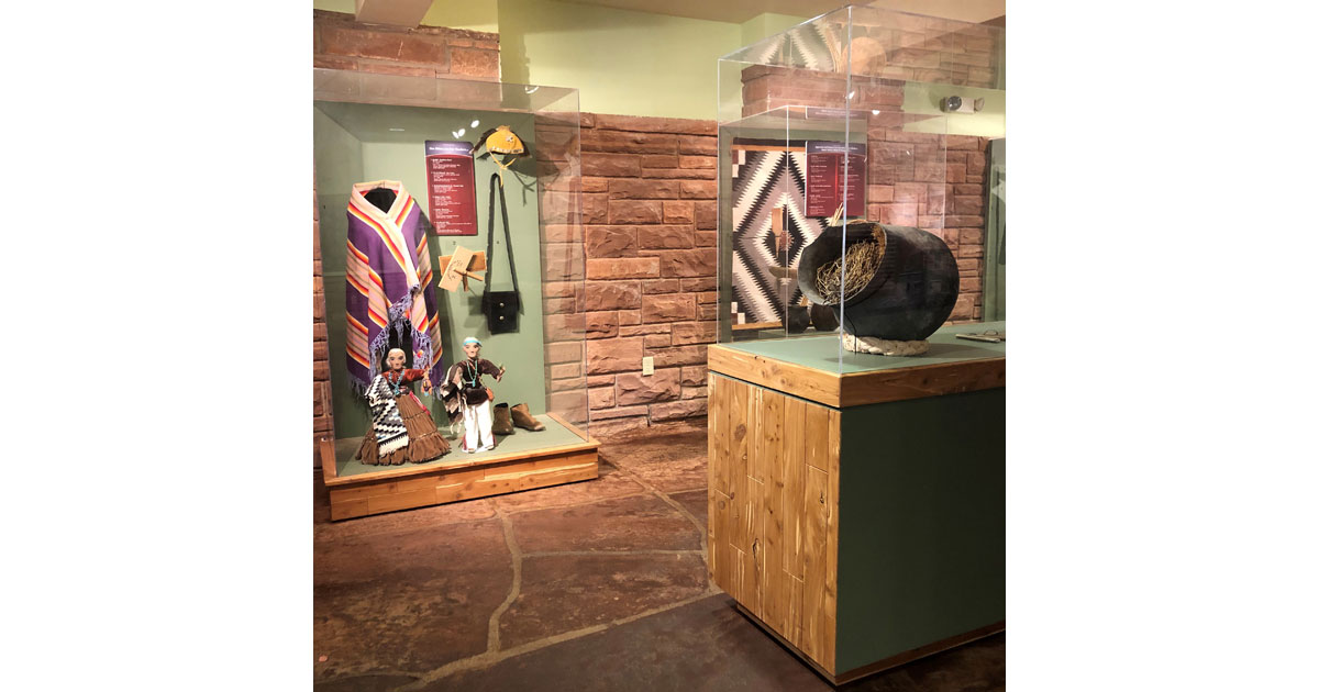 Monument Valley Visitor Center and Museum Exhibit