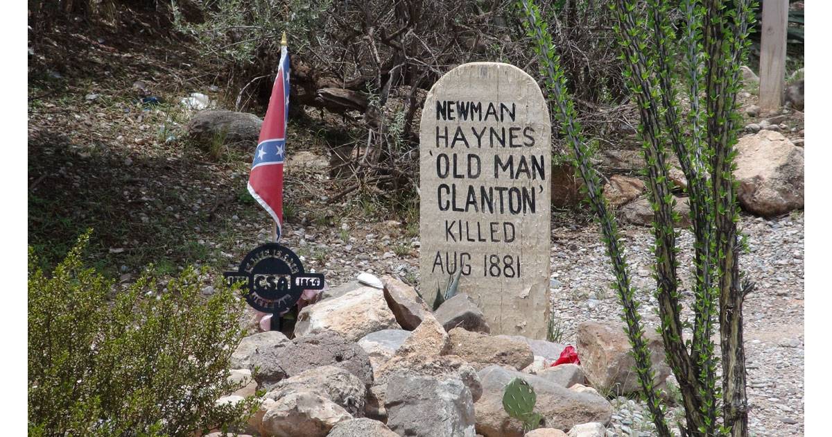 Newman Hayes Grave in Boothill Cemetery