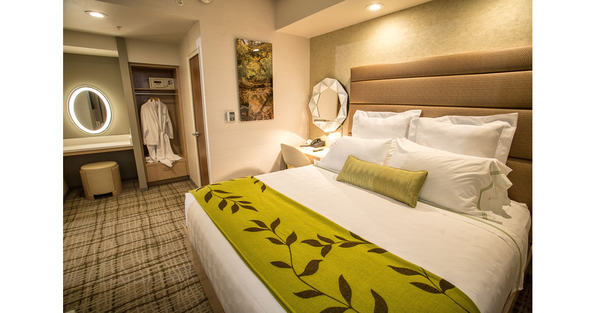 Contemporary guest rooms await at The Fredonia Hotel. Courtesy Fredonia Hotel.