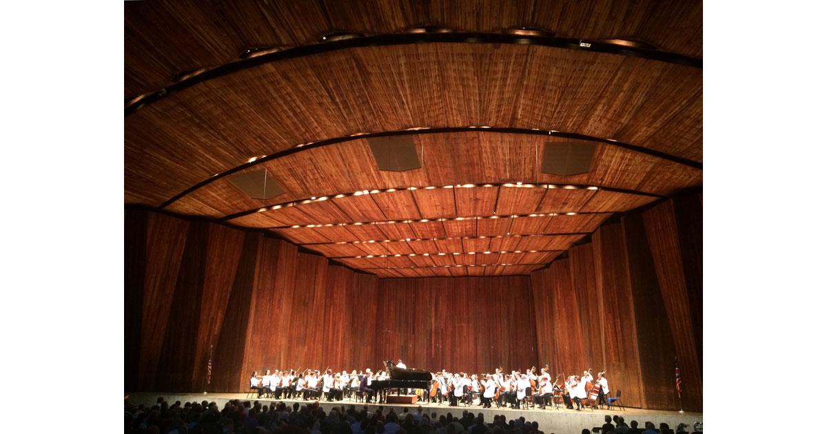 Orchestra at Blossom