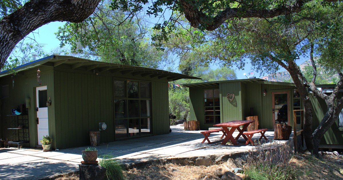Secluded Spirit Camp Sequoia Vacation Rental