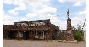 Boothill Cemetery in Tombstone, AZ