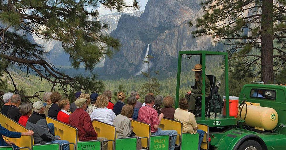 Yosemite Valley Tour - Courtesy Tenaya Lodge